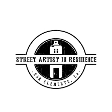Street Artist in Residence Logo; Photo credit Julie Faith
